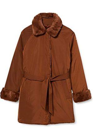 Geox W Kaula Faux Fur Coat Dames