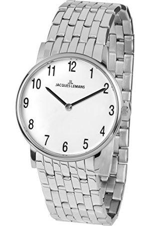 Jacques Lemans Dames analoog kwarts horloge met roestvrij stalen armband 1-1849F