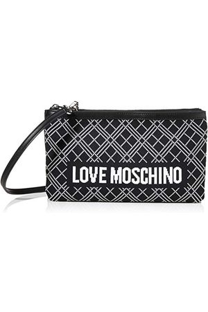 Moschino Love BORSA Fabric NER-BIA + GRAIN PU neroddames Normaal