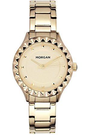 Morgan Aan dameshorloge, datum, standaard, kwarts, met armband van roestvrij staal, MG 001-1EM