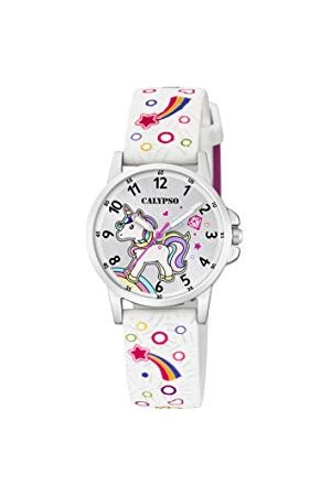 Calypso K5776/4 Analoog kwartshorloge voor kinderen, met plastic armband