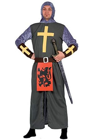 CIAO Crociato Templare Costume Adulto (taglia Unica) kostuum, Uomo