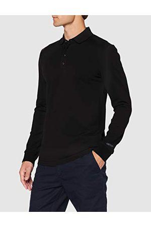 Scotch&Soda Chic Stretch Cotton-Pique Longsleeve Polo Shirt