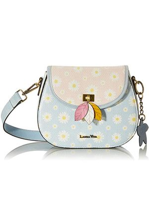 LAURA VITA Womens 4171 Sling, City Bag, Bleu, Little