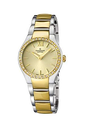Candino Womens Analoog Klassiek Quartz Horloge met RVS Band C4538/2