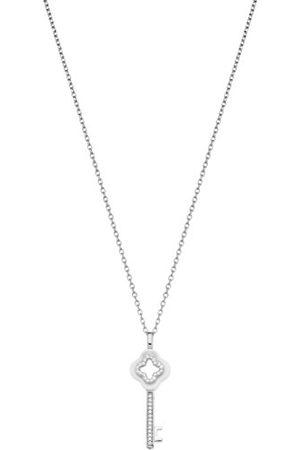 Ceranity Dameshalsketting met hanger sterling zilver 925 zirkonia 45 cm 1-72/B - 0057