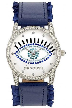 Manoush Unisex analoog kwarts horloge met PU armband MSHSE02