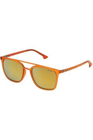 Police SPL36653JA1X zonnebril, oranje, 53 voor heren