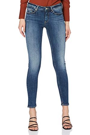 Scotch&Soda La Bohemienne voor dames, indigo plant jeans