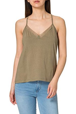 Superdry Lace Mix Cami Shirt voor dames
