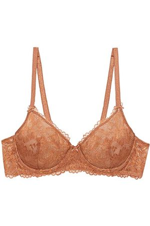 Savage x Fenty Dames Floral Lace Unlined Bra Balconette-BH