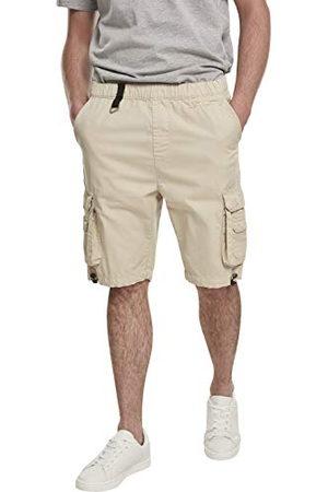 Urban classics Heren Double Pocket Cargo Shorts