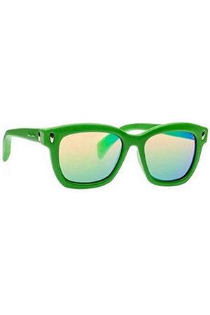 Italia Independent Unisex volwassenen 0011-033-000 zonnebril, (Verde), 53.0