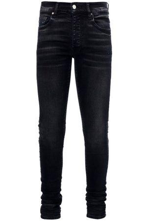AMIRI Stack Skinny-leg Jeans - Mens - Black
