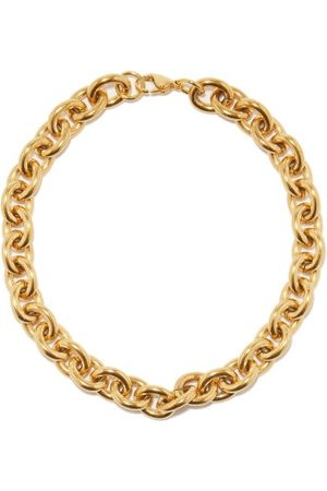 Fallon Alexandria 18kt Gold-plated Necklace - Womens - Gold
