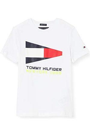 Tommy Hilfiger Jongens Tommy vlag zeilen Gear Tee S/S T-Shirt