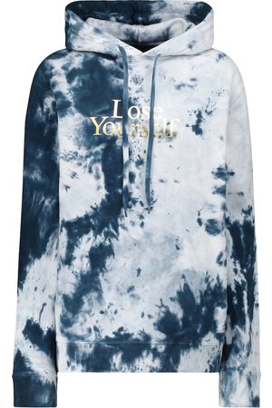 Paco rabanne Tie-dye cotton hoodie