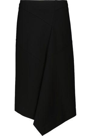 Dorothee Schumacher Emotional Essence asymmetric wrap skirt