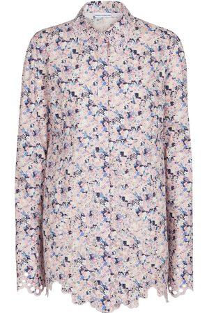 Paco rabanne Floral cotton shirt