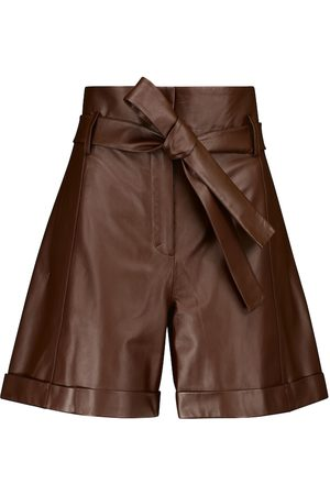 Dorothee Schumacher Exciting Softness leather Bermuda shorts