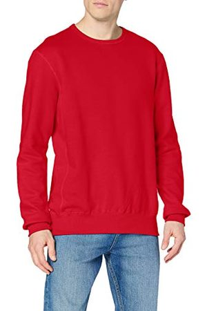 Stedman Apparel Heren Active/ST5620 Hooded lange mouw Sweatshirt - rood - L