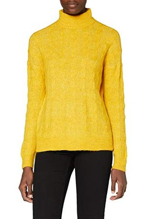 Pieces Dames Pcbecky Ls High Neck Cable Knit Noos Bc Pullover
