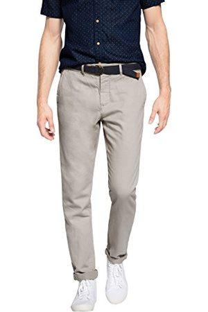Esprit Heren relaxed broek Chino met linnen