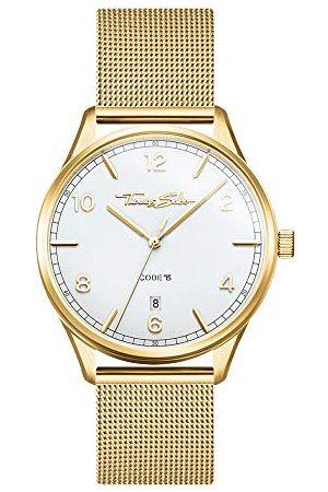 Thomas Sabo Dames analoog kwarts horloge met roestvrij stalen armband WA0361-264-202-36 mm