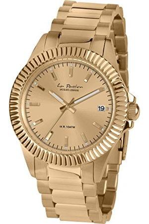 Jacques Lemans Dames analoog kwarts horloge met roestvrij staal gecoate armband LP-125M