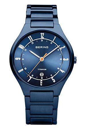 Bering Analoog kwartshorloge voor heren, met titanium armband 11739-797