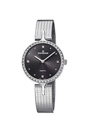 Candino Womens Analoog Klassiek Quartz Horloge met RVS Band C4646/2
