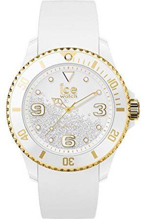 Ice-Watch ICE crystal White gold - dameshorloge met siliconen armband - 017247 (Maat M)