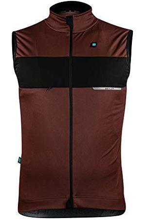 Biehler Heren 0414602.DEFRB.S Fleece vest, Rose Brown, S