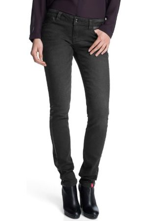 Esprit Dames jeans 123CC1B011 Skinny Slim Fit (groen) normale tailleband