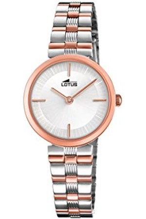 Lotus Lotus Horloges Womens Analoog Klassieke Quartz Horloge met RVS Band 18542/2