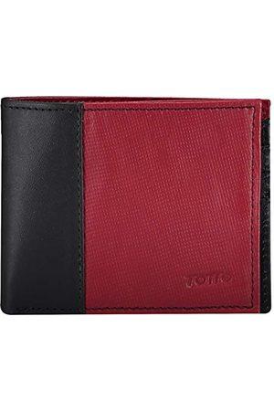 TOTTO Heren portemonnee van leer in verschillende kleuren en patronen, portemonnee van leer, Arkansas