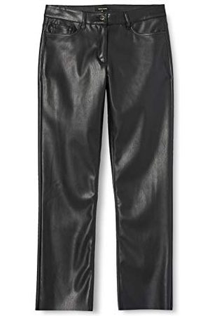 More & More Dames Fake Leather Casual broek