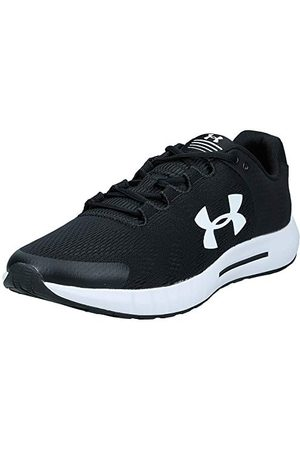 Under Armour Men's Micro Pursuit Bp Competition Running Shoes, Black Black White White 001 001, 12 UK