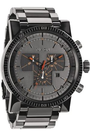 Nixon Herenhorloge XL Magnacon SS chronograaf kwarts roestvrij staal gecoat A1541235-00