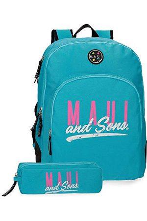 Maui and Sons Hawai schoolrugzak, Turkoois (Groen) - 45326B2