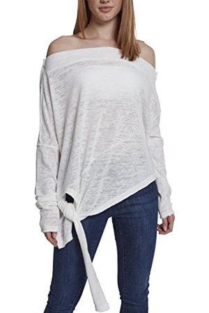Urban classics Asymetric sweater voor dames