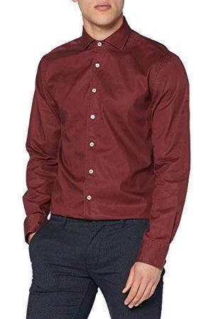 Hackett Heren Co/Tencel Piece Dye Shirt