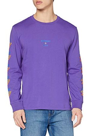 Superdry Heren Sportstyle Nrg Ls Top T-shirt
