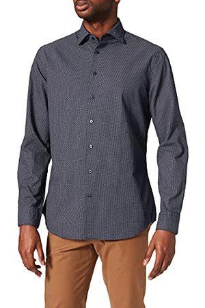 Seidensticker Zijdesticker heren Shaped Fit lange mouwen Oxford hemd