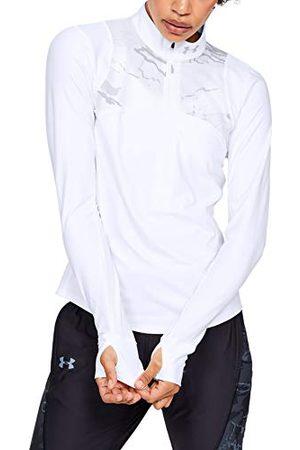 Under Armour Dames Jersey Lange Mouwen Ua Qualifier Shirt En Camouflage ½ Zip, Misc/Assortie, SM