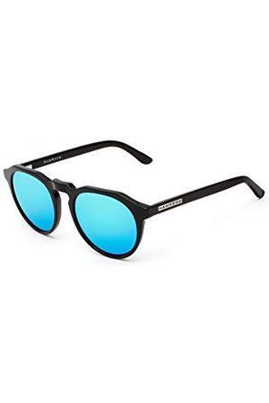 Hawkers Unisex volwassenen WARWICK X · Diamond Black · Clear Blue zonnebril, (Negro), 5.0