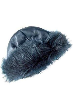 Coolskins Russische omkeerbare lammmuts met lang haar en leer, 100% leer en Spaanse confectie, uniseks, volwassenen - - One Size