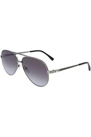 LACOSTE EYEWEAR L233S-024 bril, donkergrijs, 60/14/140, unisex volwassenen