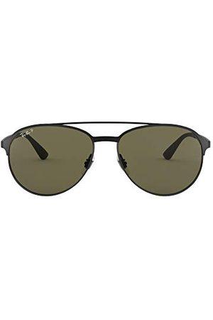 Ray-Ban Heren Sonnenbrille Mod. 3606 zonnebril, (Schwarz), 59.0