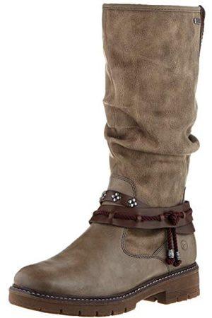 Tamaris 1-1-26612-23, Hoge laarzen. dames 36 EU